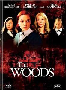 The Woods (Blu-ray & DVD im Mediabook), 1 Blu-ray Disc und 1 DVD