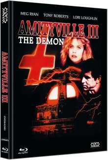 Amityville 3-D (Blu-ray & DVD im Mediabook), 1 Blu-ray Disc und 1 DVD