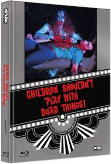 Children shouldn't play with dead things (Blu-ray & DVD im Mediabook), 1 Blu-ray Disc und 1 DVD