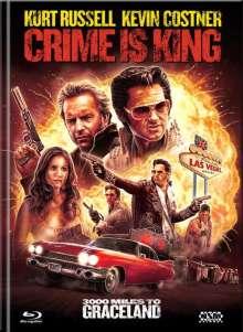 Crime is King - 3000 Miles to Graceland (Blu-ray & DVD im Mediabook), 1 Blu-ray Disc und 1 DVD