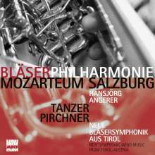 Bläserphilharmonie Mozarteum Salzburg - Neue Bläsersymphonik aus Tirol, CD