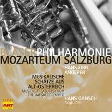 Bläserphilharmonie Mozarteum Salzburg - Musikalische Schätze aus Alt-Österreich, CD