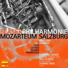 Bläserphilharmonie Mozarteum Salzburg - Eder / Leitner / Regner / Wimberger, CD