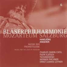 Bläserphilharmonie Mozarteum Salzburg - Musik der Freiheitsliebe, CD