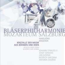Bläserphilharmonie Mozarteum Salzburg - Kristalle der Musik aus Böhmen und Wien, 2 CDs