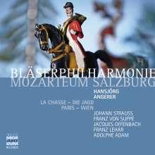 Bläserphilharmonie Mozarteum Salzburg - La Chasse/Die Jagd  Paris - Wien, 2 CDs