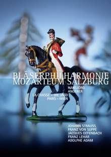 Bläserphilharmonie Mozarteum Salzburg - La Chasse/Die Jagd  Paris - Wien, DVD