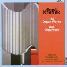 Ernst Krenek (1900-1991): Orgelwerke, CD
