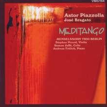 "Astor Piazzolla (1921-1992): Tangos für Klaviertrio ""Meditango"", CD"