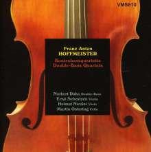 Franz Anton Hoffmeister (1754-1812): Kontrabaßquartette Nr.2-4, CD