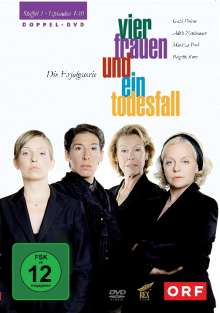 Vier Frauen und ein Todesfall Staffel 1, 2 DVDs