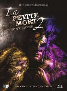 La Petite Mort 2 - Nasty Tapes (Blu-ray & DVD im Mediabook), 1 Blu-ray Disc, 1 DVD und 1 CD