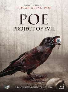 POE - Project of Evil (Blu-ray & DVD im Mediabook), 1 Blu-ray Disc und 1 DVD