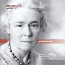 Johanna Senfter (1879-1961): Violinsonaten opp.26 & 32, 2 CDs