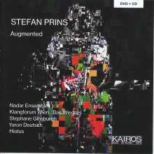 """Stefan Prins (geb. 1979): Kammermusik """"Augmented"""", 1 CD und 1 DVD"""