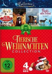 Tierische Weihnachten (4 Filme auf 1 DVD), DVD