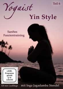 Yogaist Vol. 6: Yin Style, DVD