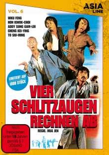 Vier Schlitzaugen rechnen ab, DVD