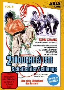 2 tödliche Fäuste im Schatten der Schlange, DVD