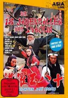Die 18 Jadekrallen der Shaolin, DVD