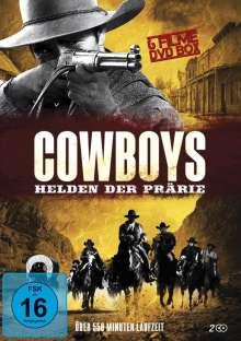Cowboys - Helden der Prärie (6 Filme auf 2 DVDs), 2 DVDs