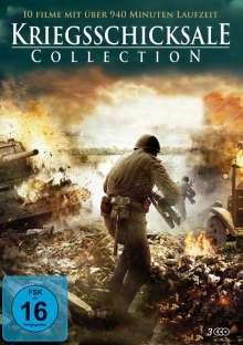 Kriegsschicksale Collection (10 Filme auf 3 DVDs), 3 DVDs