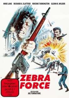 Zebra Force, DVD