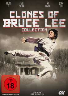 Clones of Bruce Lee Collection (3 Filme), DVD