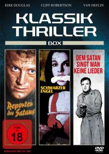 Klassik Thriller Box (3 Filme), DVD