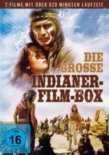 Die grosse Indianer-Film-Box (7 Filme auf 3 DVDs), 3 DVDs
