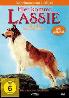 Hier kommt Lassie (4 Filme), 4 DVDs