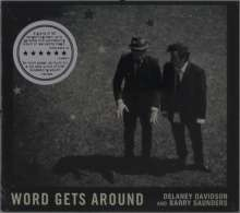 Delaney Davidson & Barry Saunders: Word Gets Around, CD