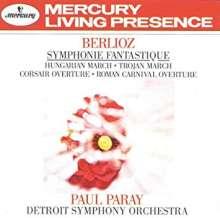 Hector Berlioz (1803-1869): Symphonie fantastique (180g), LP