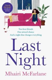 Mhairi McFarlane: Last Night, Buch