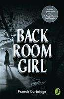 Francis Durbridge: Back Room Girl, Buch