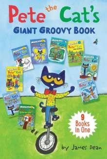 James Dean: Pete the Cat's Giant Groovy Book: 9 Books in One, Buch
