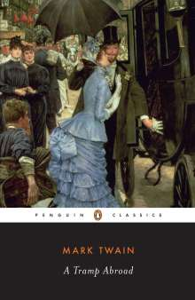 Mark Twain: A Tramp Abroad, Buch