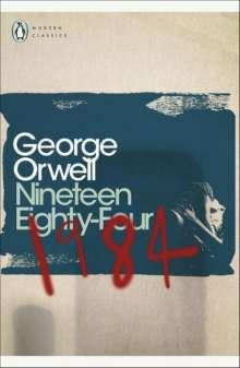 George Orwell: Nineteen Eighty-Four (1984), Buch
