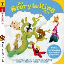 Alison Hawes: Read with Oxford: Stages 2-3: Phonics: My Storytelling Kit, Diverse