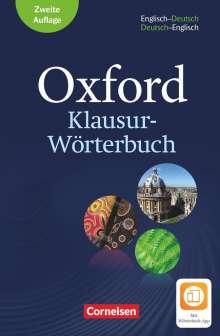 Oxford Klausur-Wörterbuch - Ausgabe 2018. B1-C1 - Englisch-Deutsch/Deutsch-Englisch, Buch