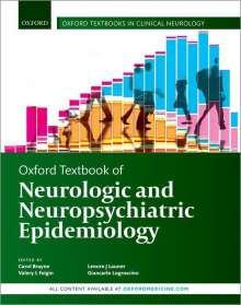 Oxford Textbook of Neurologic and Neuropsychiatric Epidemiology, Buch