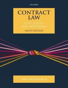 Ewan McKendrick: Contract Law, Buch