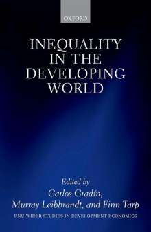 Inequality in the Developing World, Buch