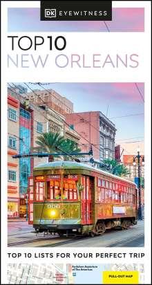 Dk Eyewitness: DK Eyewitness Top 10 New Orleans, Buch