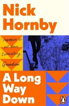 Nick Hornby: A Long Way Down, Buch