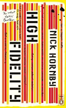 Nick Hornby: High Fidelity, Buch