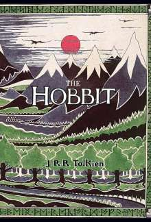 John R. R. Tolkien: The Hobbit Or There and Back Again, Buch