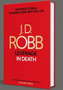 J. D. Robb: Leverage in Death, Buch
