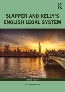 David Kelly: The English Legal System, Buch