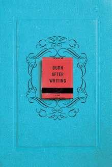 Sharon Jones: Burn After Writing, Buch